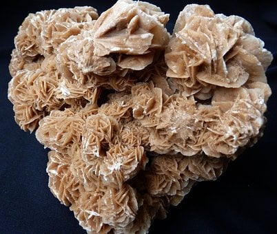 Sand Rose, Desert Rose, Sand Color, Yellow, Brown