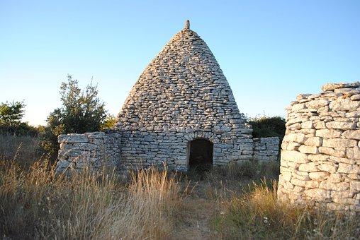 Stone House, Boris, Luberon, France, Architecture