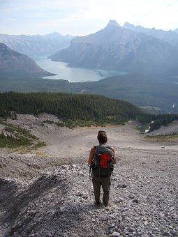 Banff, Lake, Canada, Alberta, Landscape, Rocky, Nature