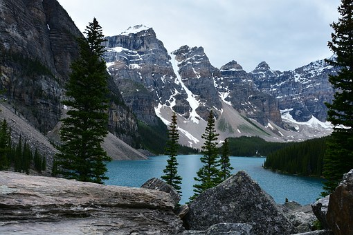 Lake Louise, Moraine Lake, Banff, Rocky, Mountain