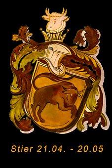 Zodiac Sign, Bull, Horoscope, Signs Of The Zodiac