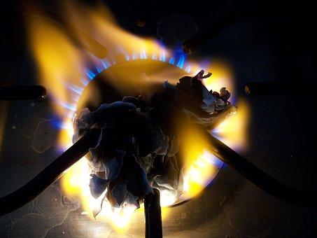 Burner, Fire, Paper, Burnt, Heat, Flame, Hot, Gas