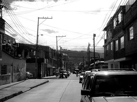 Bogota, Colombia, Capital, South America, Road, Autos