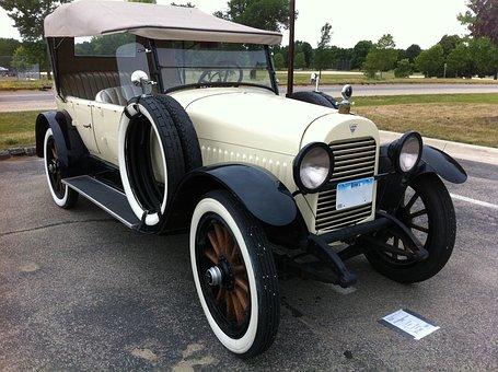 Hudson Phaeton 1921, Car, Automobile, Vehicle