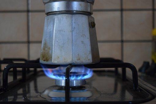 Coffee, Tea, Espresso, Cook, Make Coffee, Gas