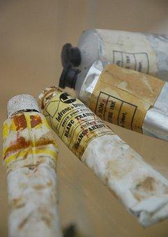 Tubes, Color Tubes, Color, Paint, Painter Utensils