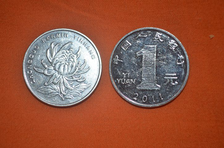 Coin, Yuan, Front, Back, Denomination, Value, Worth