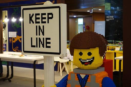 Lego, Follow In Line, Andersen