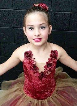 Ballerina, Beauty, Costume, Tutu, Recital, Dance, Girl