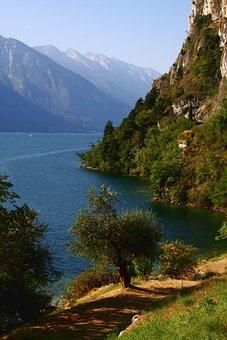Lake Garda, Italy, Limone Sul Garde, Holiday, Summer