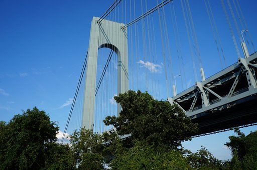Bridge, New York, Park, Architecture, City, Manhattan
