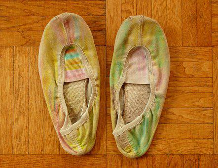 Old Shoes, Slippers, Parquet