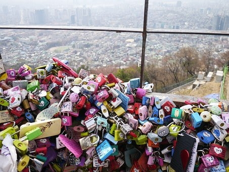 Party Bucket, Namsan Tower, Namsan, Republic Of Korea