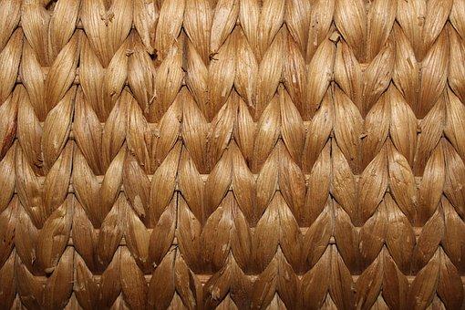 Rattan, Braid, Woven, Structure, Wicker, Pattern