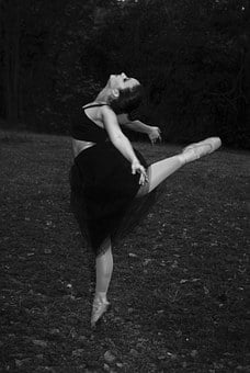 Ballerina, Woman, Ballet Dancer, Pointe Shoes, Art
