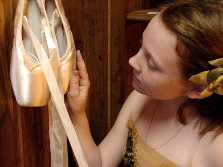 Ballet, Pointe Shoes, Ballerina, Girl, Costume, Wish