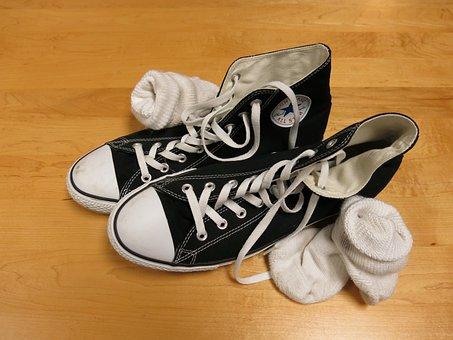 Sneakers, Gym, Shoes, Socks, Footwear, Fitness