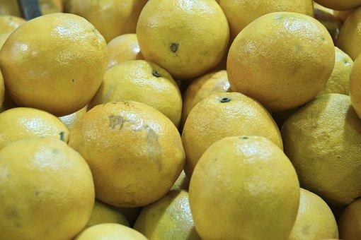 Lemon, Sour, Citrus Fruits, Yellow, Fruits, Fruit
