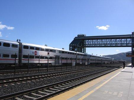 Bayshore, Caltrain, Station, San Francisco, Brisbane