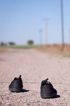 Freedom, Shoes, Path, Road, Summer, Travel, Outdoor
