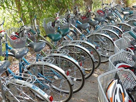 Vietnam, Mekong Delta, Bike, Wheel, Wheels, Cycling
