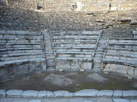 Amphitheater, Turkey, Ephesus, Antiquity