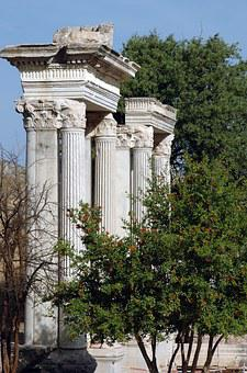 Ruins, Remains, Ephesus, Greek City, Asia Minor, Temple