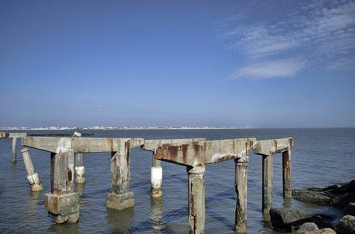 Atlantic City, Ocean, Beach, Boardwalk