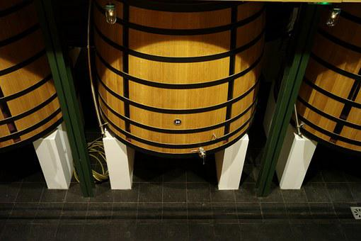 Wine, Wood, Barrel, Drink, Red, Wooden, Alcohol, Winery