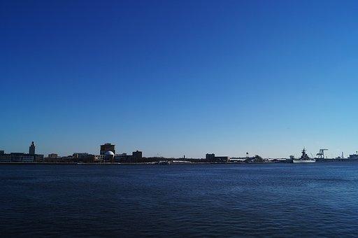 Camden, New Jersey, Shoreline, Philadelphia
