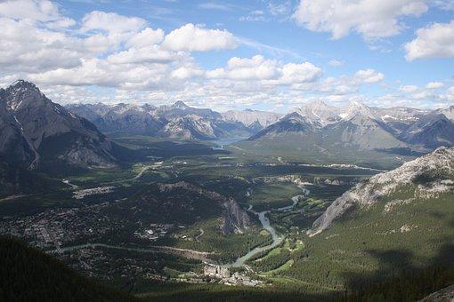 Canada, Mountains, Rockies, Sulphur, Sulphuric