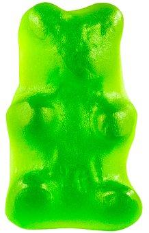 Candy, Gummy Bear, Green, Gummy, Sugar, Sweet, Food
