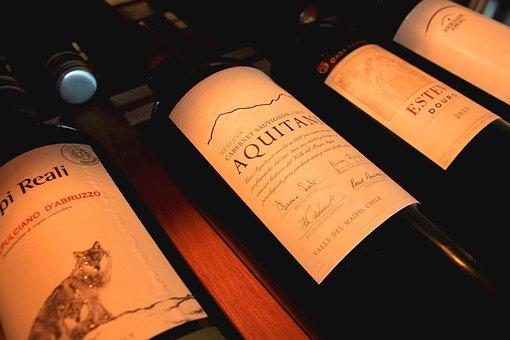 Wines, Bottles, Cellar, Low Light, Drink, Stored