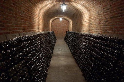 Building, Wine, Winery, Vineyard, Cellar