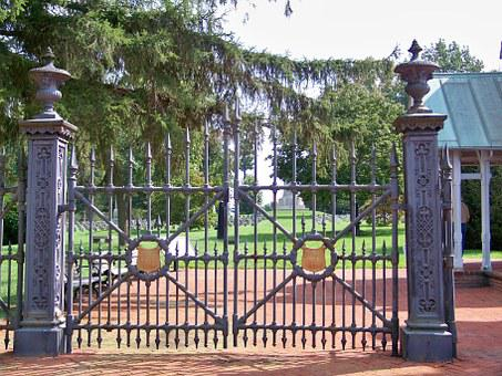 Gothic Gate, Fence, Gothic, Gate, Old, Metal