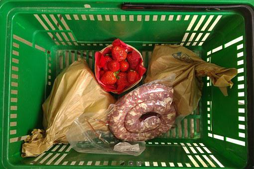 Basket, Provisions, Grocery, Purchases, Market Bags