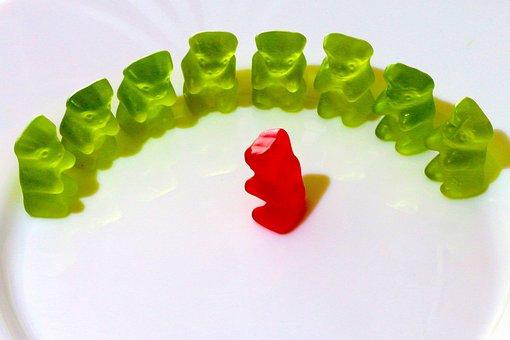 In A Semicircle, Gummi Bears, Fruit Jelly, Listen To