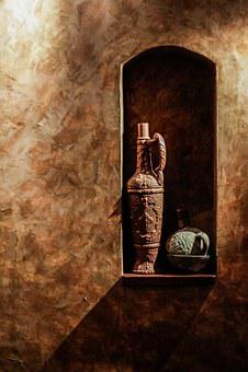 Wine, Bottles, Brown, Wall, Wine Bottle, Old, Historic
