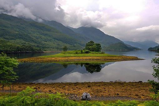 Glenfinnan, Hole, Landscape, Highlands, Scotland