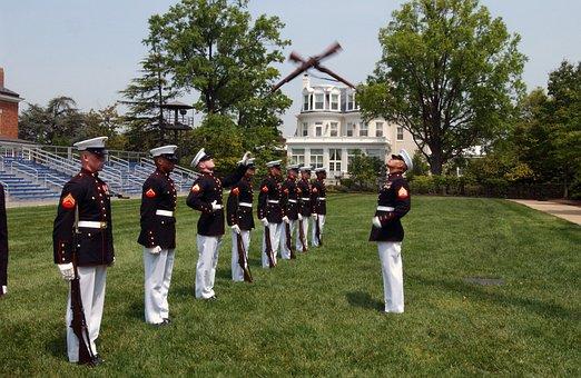Washington Dc, Marine Corps, Marines, Drill Team