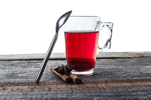 Tea, Cup, Teabag, Mug, Glass, Close-up, String, Natural