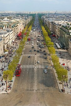 Paris, City, France, Panorama, The Centre Of, Buildings