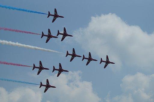 The Red Arrows, Royal Air Force, Raf Waddington