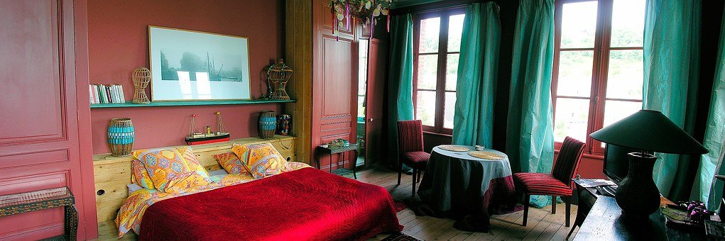 Room, Bed, Double Bed, Sleep, Stay, Blanket, France