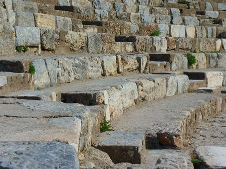 Ruins, Ephesus, Theater, Ruined City, Ionia