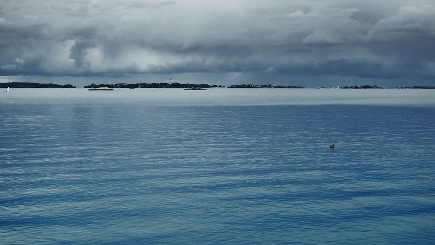 Storm Front, Sea, Sea Shore, Sky, Water, Coastal