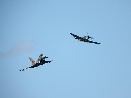 Typhoon, Spitfire, Eurofighter, Air Display, Display