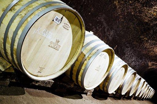 Tokaj, Barrel, Cellar, Wine
