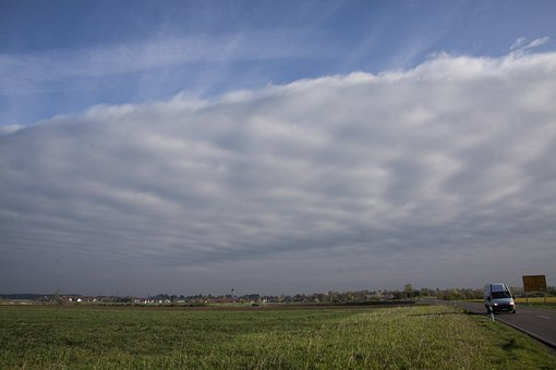 Clouds, Wolkenwand, Nice Weather, Bad Weather, Grey