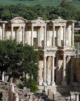 Ephesus, Temple Of Artemis, World's Wonder, Ruins